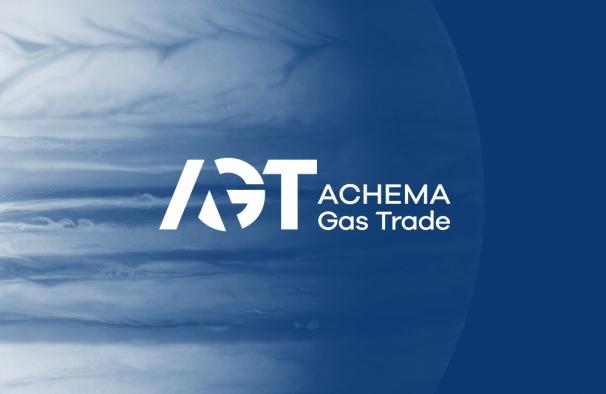 Achema Gas Trade. Logotipo, firminio stiliaus ir svetainės sukūrimas