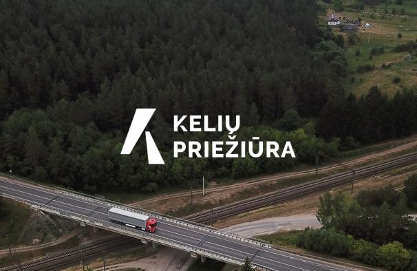 Kelių priežiūra. Logotipo ir svetainės atnaujinimas, firminio stiliaus sukūrimas