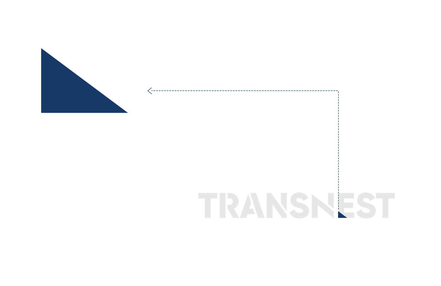 A triangle that used in the brand identity