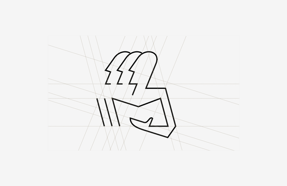 Brand mark geometry